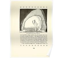 Tanglewood Tales by Nathaniel Hawthorne with Illustrations by Virginia Frances Sterrett 1921 224 Peeped into Cave Poster