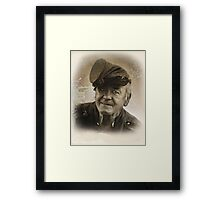 Battle Lines Framed Print