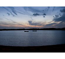 The sunken Jetty - Fleetwood boating pool Photographic Print