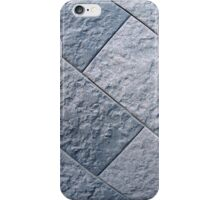 Fragment of gray decorative wall iPhone Case/Skin