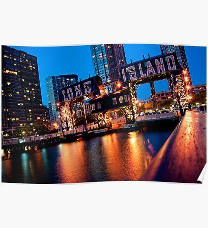 Long Island City Gantries Poster