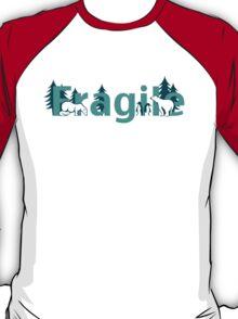 Fragile - polar bears arctic scene T-Shirt