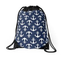 Anchors Aweigh! Drawstring Bag