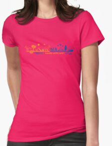 Fragile - handle with care! version 2 Womens Fitted T-Shirt