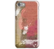 Abstract Paint Splats in Autumn Colors iPhone Case/Skin