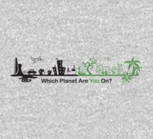 Which Planet Are You On? - version 2 Kids Clothes