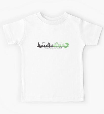 Which Planet Are You On? - version 2 Kids Tee