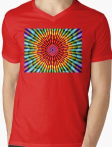Spiritual Light Mens V-Neck T-Shirt