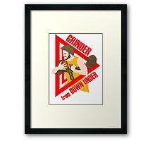 Dellavedova - Grinder from Down Under Framed Print