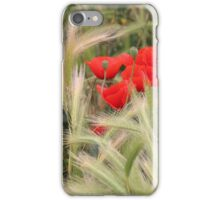Grain and Poppies iPhone Case/Skin