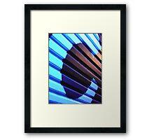 deep blue C  Framed Print