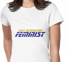 Next generation FEMINIST Womens Fitted T-Shirt
