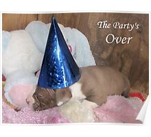 The Party's Over Poster