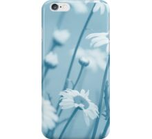 Daisies in Blue #2 iPhone Case/Skin