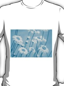 Daisies in Blue #2 T-Shirt