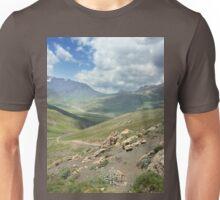 an inspiring Kazakhstan landscape Unisex T-Shirt