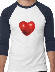 Love is rough around the edges  Men's Baseball ¾ T-Shirt