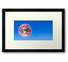 A Dying World Framed Print