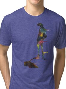 He's a dandy guy, made of space. Tri-blend T-Shirt
