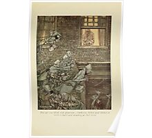 A Christmas Carol by Charles Dickens art by Arthur Rackham 1915 0055 The Air Was Filled With Phantoms Poster