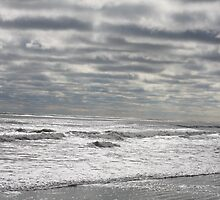 A cold morning in St. Augustine Beach by RJBlount
