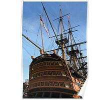 "HMS Victory - On ""Tall Ships"" List for challenge. Poster"