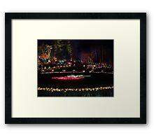 Night in the Rose Garden (1) Framed Print