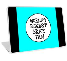 WORLD'S BIGGEST BRICK FAN Laptop Skin