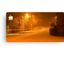 A Brave Car Canvas Print