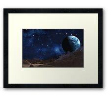 Fractured World Framed Print