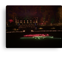 Night in the Rose Garden (2) Canvas Print