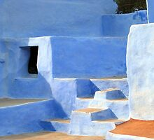 Indian Blue House by Rob Wood