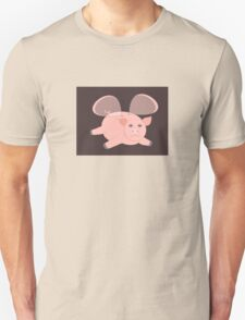 EVENING OF THE GLASSWINGED PIG Unisex T-Shirt