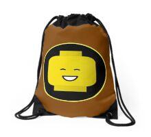 MINIFIG HAPPY FACE Drawstring Bag