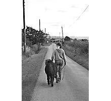 A Long Walk Photographic Print