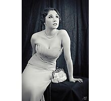 Silver Screen Starlet Photographic Print
