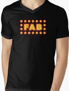 Fab Mens V-Neck T-Shirt
