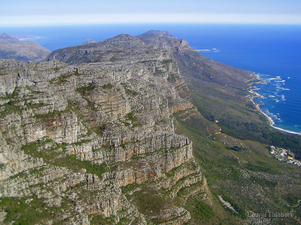 Ocean View from Table Mountain by Laurel Talabere