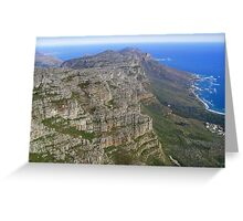 Ocean View from Table Mountain Greeting Card