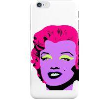 Purple Marilyn Monroe iPhone Case/Skin