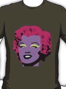 Purple Marilyn Monroe T-Shirt