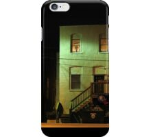 Night Alley And Building iPhone Case/Skin