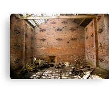 Forgotten Room Canvas Print