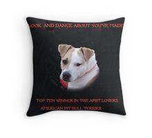 JERZY'S BANNER FOR TOP TEN Throw Pillow