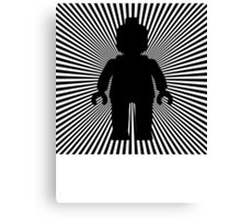 VORTEX MINIFIG Canvas Print