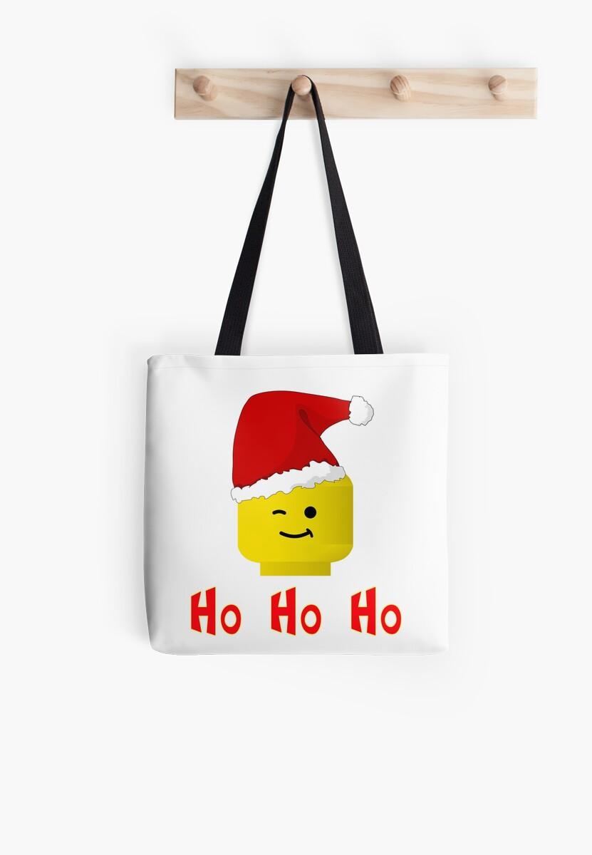 Santa Ho Ho Ho Minifig by Customize My Minifig by Customize My Minifig