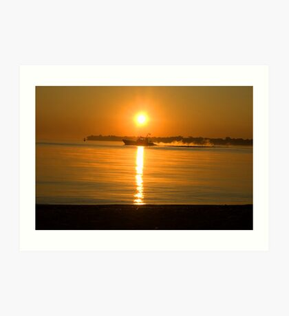 Lake Huron Sunrise Art Print