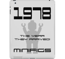 '1978 The Year They Arrived! Minifigs' iPad Case/Skin
