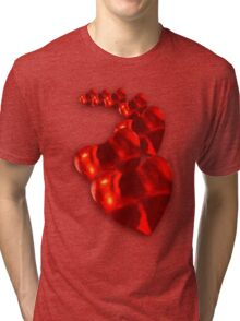 Chain of Hearts Tri-blend T-Shirt