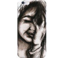 Charcoal portrait #1 iPhone Case/Skin